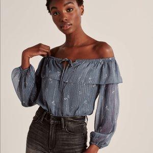 Abercrombie & Fitch bodysuit blouse S